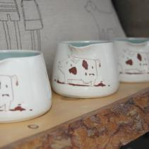 Laura Cooke cow creamers.