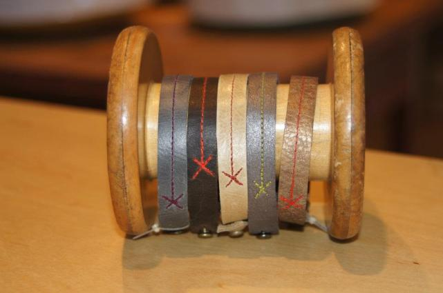 Tracey Tanner wristbands. We have double and triple wrap, too!