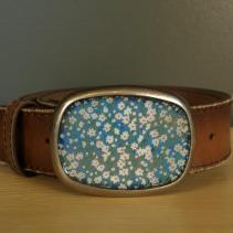 Blue Daisy Belt - $80