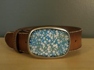 Blue Daisy Belt - $80