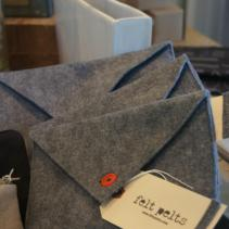 Felt pelts, perfect for protecting your kindle or nook.