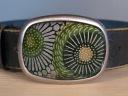 Green Sunflower Belt - $80