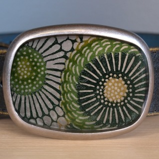 Green Sunflower Belt - $80