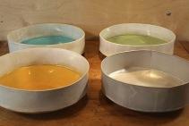 Gourd Bowls by Jill Zeidler - $300