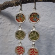 Triple Drop Earrings - $132